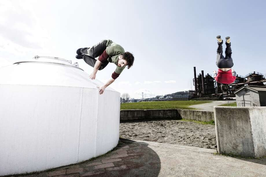 Love: All the crazy athletes that emerge in summer, from parkour enthusiasts at Gas Works to...
