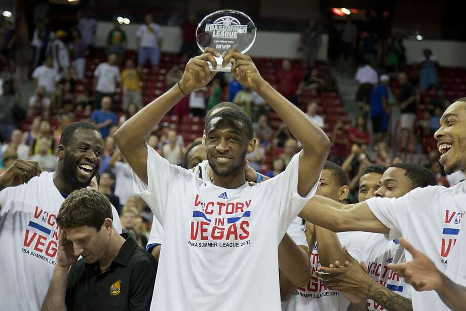 Ian Clark, who went to Belmont, was named game MVP. Photo: Julie Jacobson, Associated Press