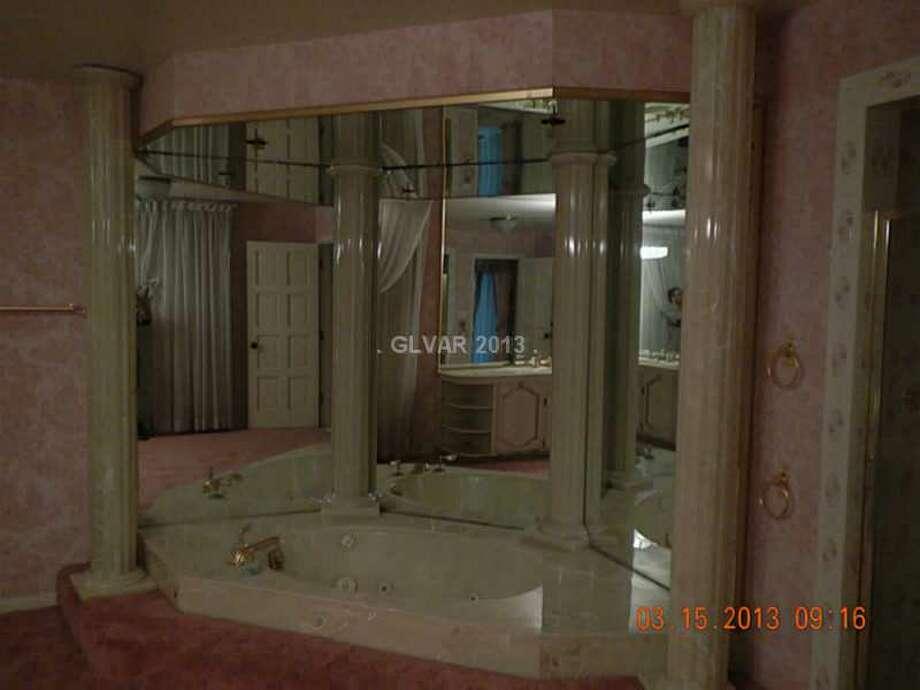 Luxury bathing underground. All photos via MLS