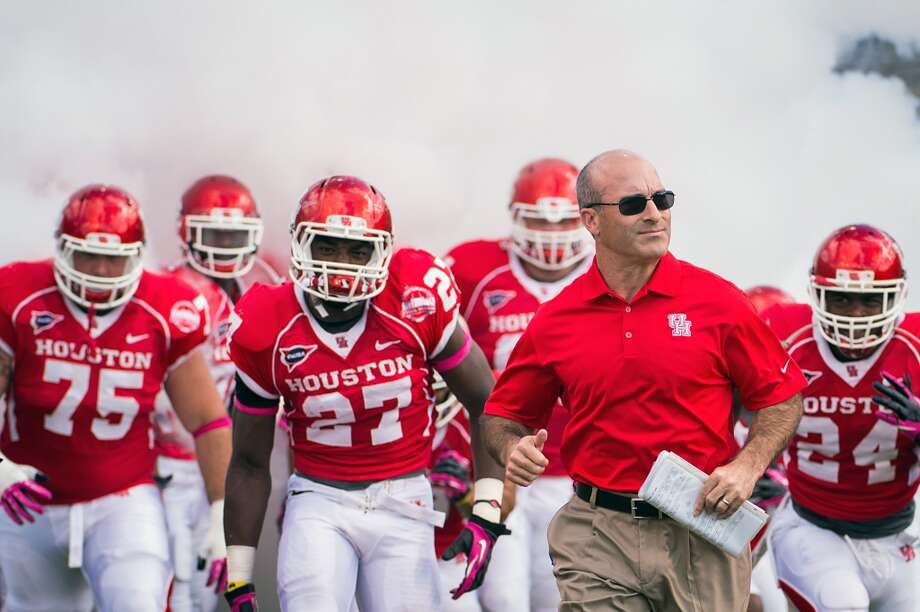 Tony Levine leads the Cougars into their first season in the American Athletic Conference. Photo: Smiley N. Pool, Houston Chronicle