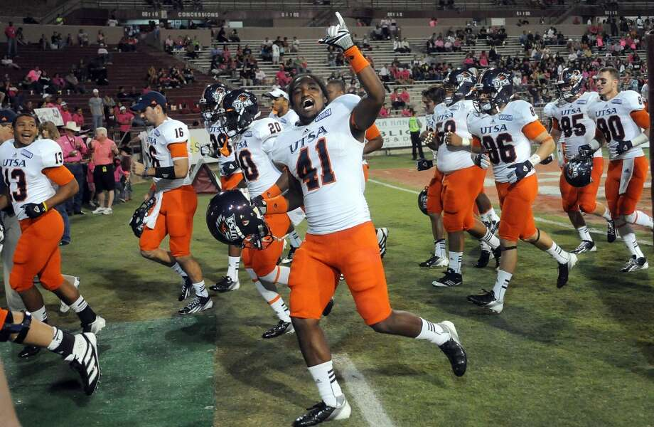 Sept. 28 - UTSA at San Antonio. Time - TBA Photo: Robin Zielinski, Associated Press