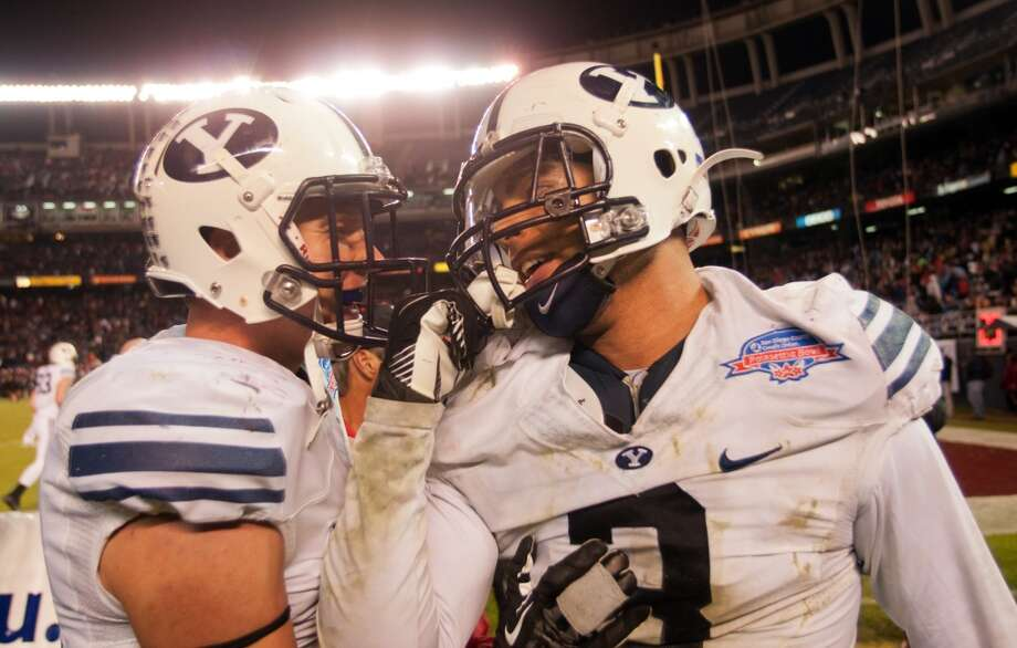 Oct. 19 - BYU at Reliant Stadium. Time - TBA Photo: Kent Horner, Getty Images