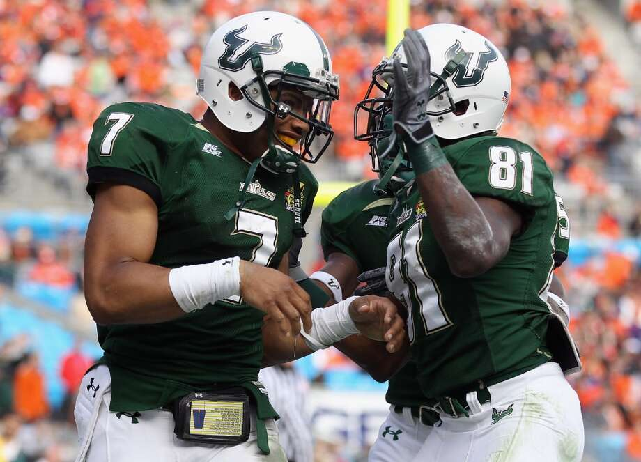 Oct. 31 - USF at Reliant Stadium at 6 p.m. Photo: Streeter Lecka, Getty Images