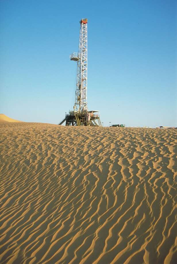 8. Algeria  Jan. - June 2013: $29 billion 2012: $62 billion  [Photo: An Anadarko oil drilling rig in Algeria's Sahara Desert. ] Photo: Via Bloomberg News