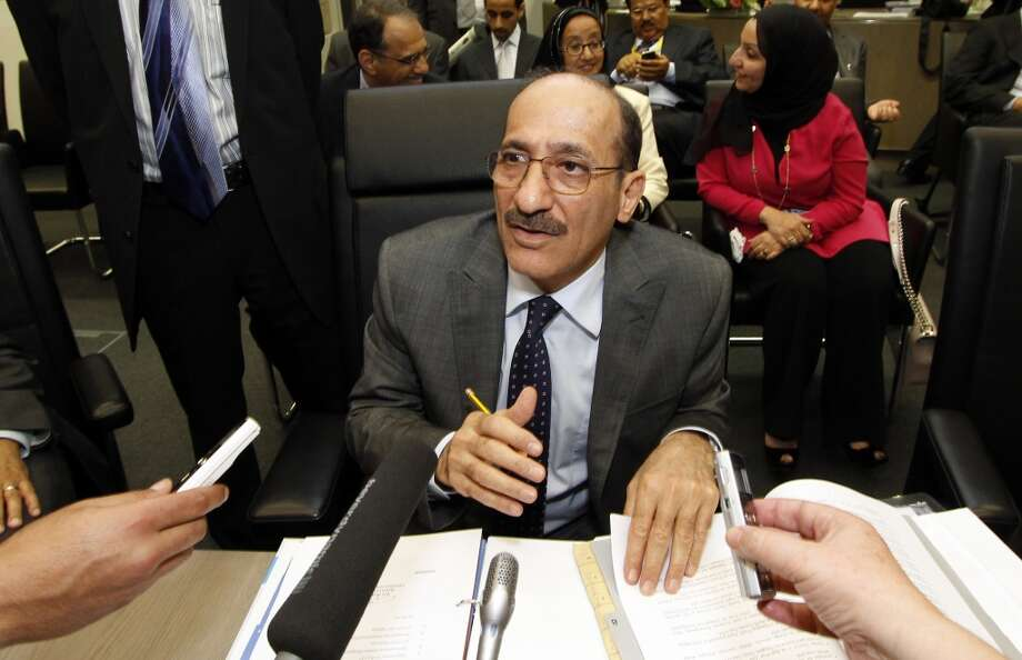4. Kuwait  Jan. - June 2013: $44 billion 2012: $88 billion  [Photo: Minister of Oil from Kuwait Hani Abdulaziz Hussain speaks to journalists prior to the start of the meeting of the Organization of the Petroleum Exporting Countries, OPEC, at their headquarters in Vienna, Austria, on Thursday, June 14, 2012.] Photo: Ronald Zak, Associated Press