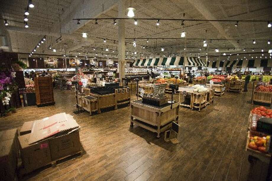 Fresh Market stores have wide sight lines. Photo: Eric Kayne