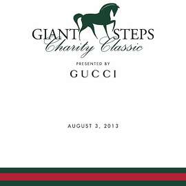 Giant Steps Charity Classic Horse Show Gala at Sonoma Horse Park, sponsored by Gucci, is August 3 at Sonoma Hors Park.