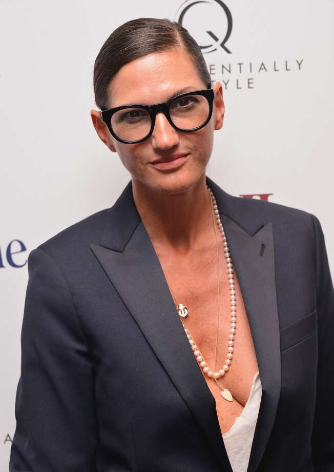 "J Crew creative director, Jenna Lyons attends the ""Blue Jasmine"" New York Premiere at the Museum of Modern Art on July 22, 2013 in New York City.  (Photo by Stephen Lovekin/Getty Images)"