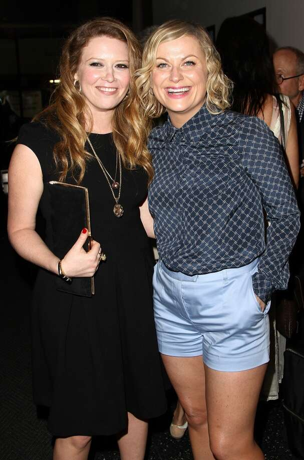 "(L-R) Actresses Natasha Lyonne and Amy Poehler attend ""Blue Jasmine"" New York Premiere at MOMA on July 22, 2013 in New York City.  (Photo by Monica Schipper/FilmMagic)"