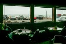 The view from the lounge at Nick's in Pacifica, Calif., is seen on Thursday, July 11th, 2013.
