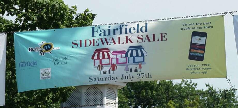Summertime means sidewalk sales and Fairfield's Sidewalk Sale Day is this Saturday. Photo: Genevieve Reilly / Fairfield Citizen