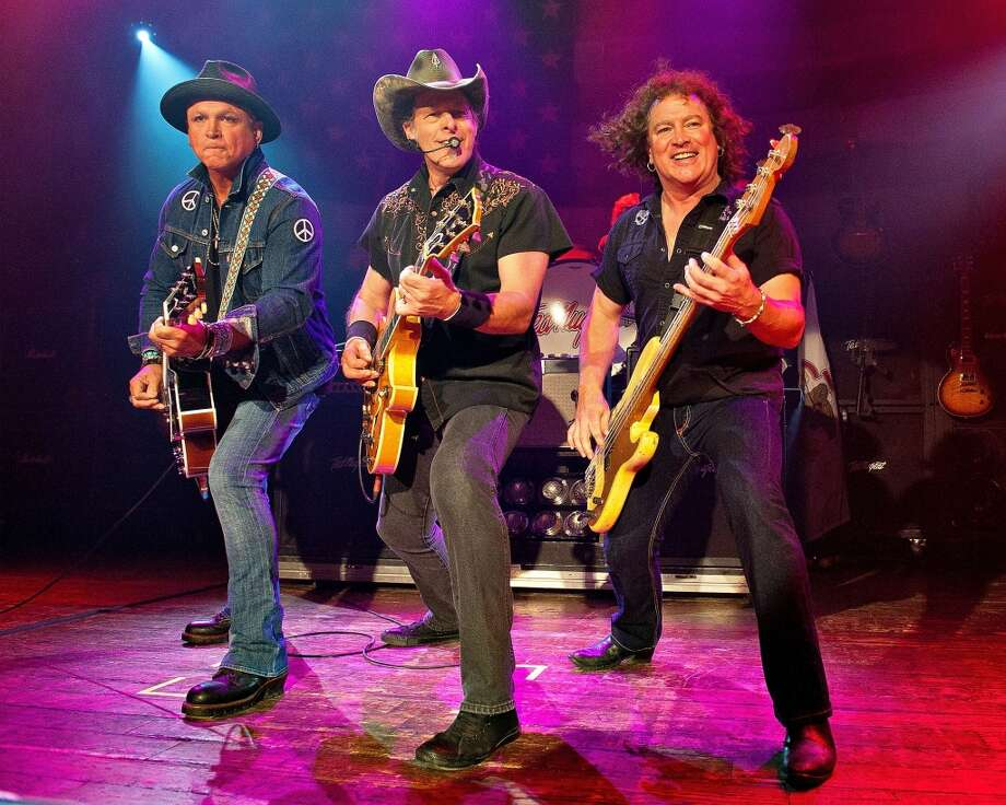 Ted Nugent performs at the House of Blues on August 14, 2012 in Chicago, Illinois. Dozens of people descended on Toad's Place on Tuesday, Aug. 6 to protest the southern rocker's performance in the wake of controversial remarks he made about Trayvon Martin. Photo: Lyle A. Waisman, Getty Images