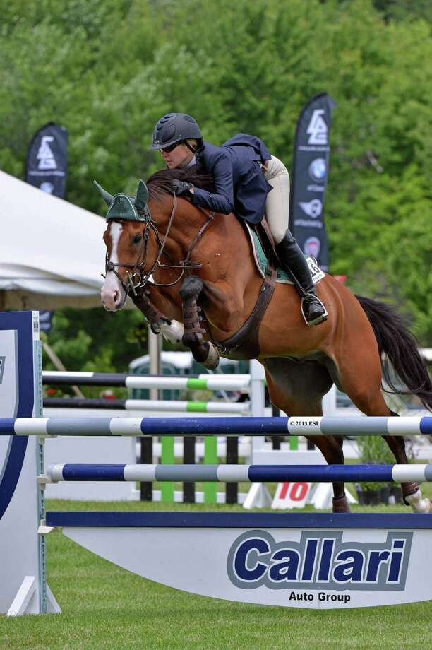 More than 5,000 people attended the 83rd annual Ox Ridge Charity Horse Show in Darien. Photo: Contributed