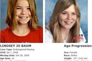 Lindsey Baum, 11, disappeared from McCleary on June 26, 2009. Her disappearance drew national attention, but, thus far, she remains missing. Anyone with information can contact the McCleary Police Department at 866-915-8299. The Washington State Patrol missing persons unit can be reached at 1-800-543-5678; National Center for Missing and Exploited Children hotline is 1-800-843-5678 (1-800-THE-LOST). More information on Washington state missing children is available online at wsp.wa.gov.