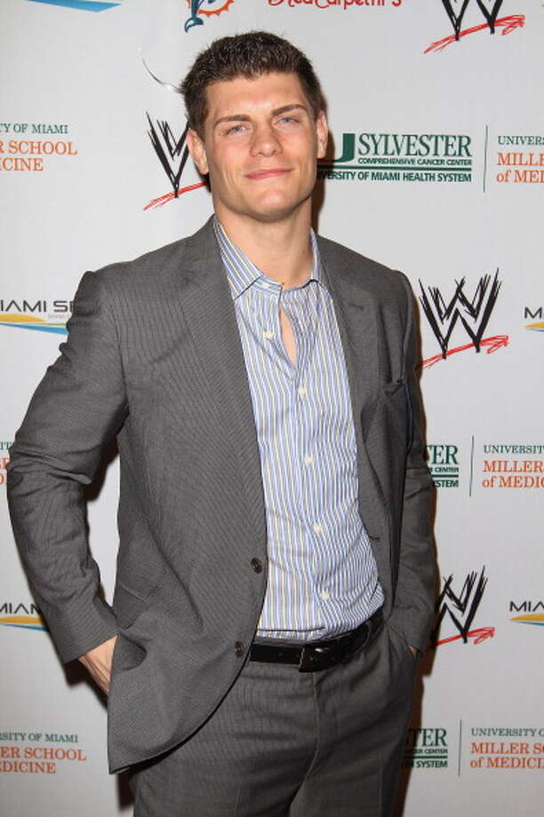 Cody Rhodes is the son of Dusty Rhodes and the brother of Goldust. Photo: Alexander Tamargo/WWE / 2012 Alexander Tamargo/WWE