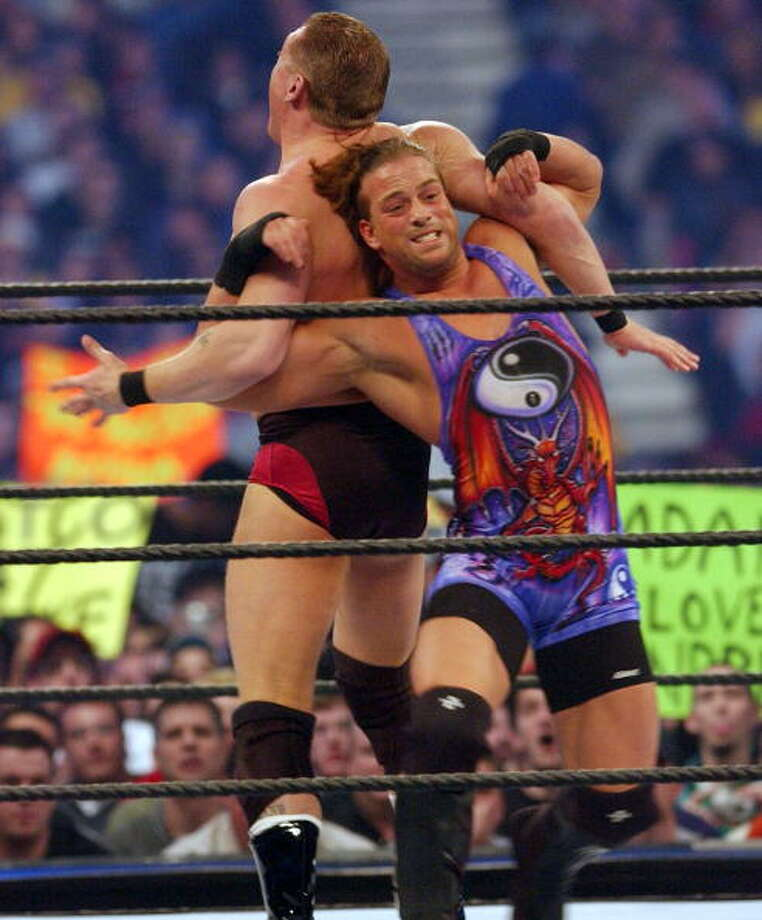 Rob Van Dam is named after his resemblance to actorJean-Claude Van Damme. Photo: George Pimentel, WireImage / 2002 Wireimage.com