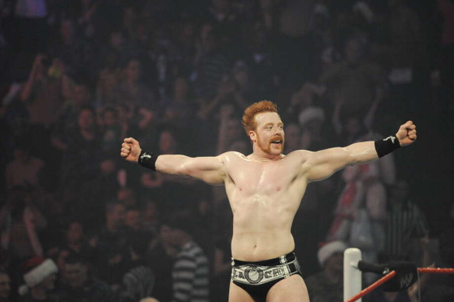 Sheamus is the first Irish-born WWE champ. Photo: Kris Connor / 2012 Getty Images