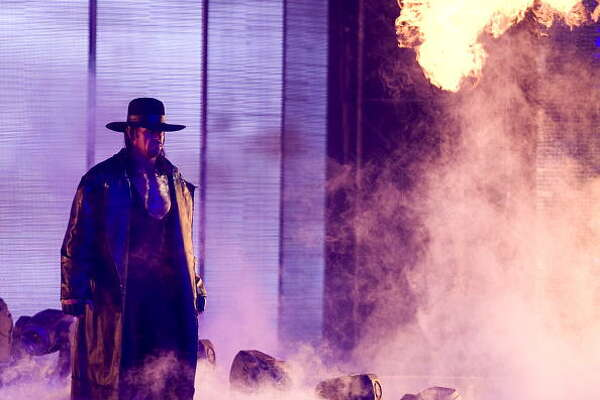 The Undertaker has never lost at Wrestlemania.