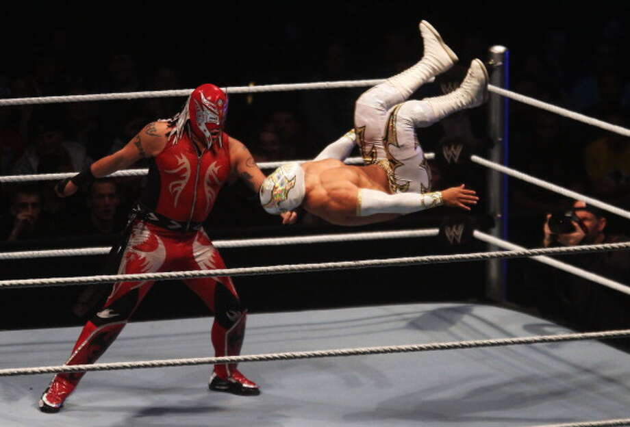 Sin Cara translates to without a face. Photo: Joern Pollex, Bongarts/Getty Images / 2012 Getty Images