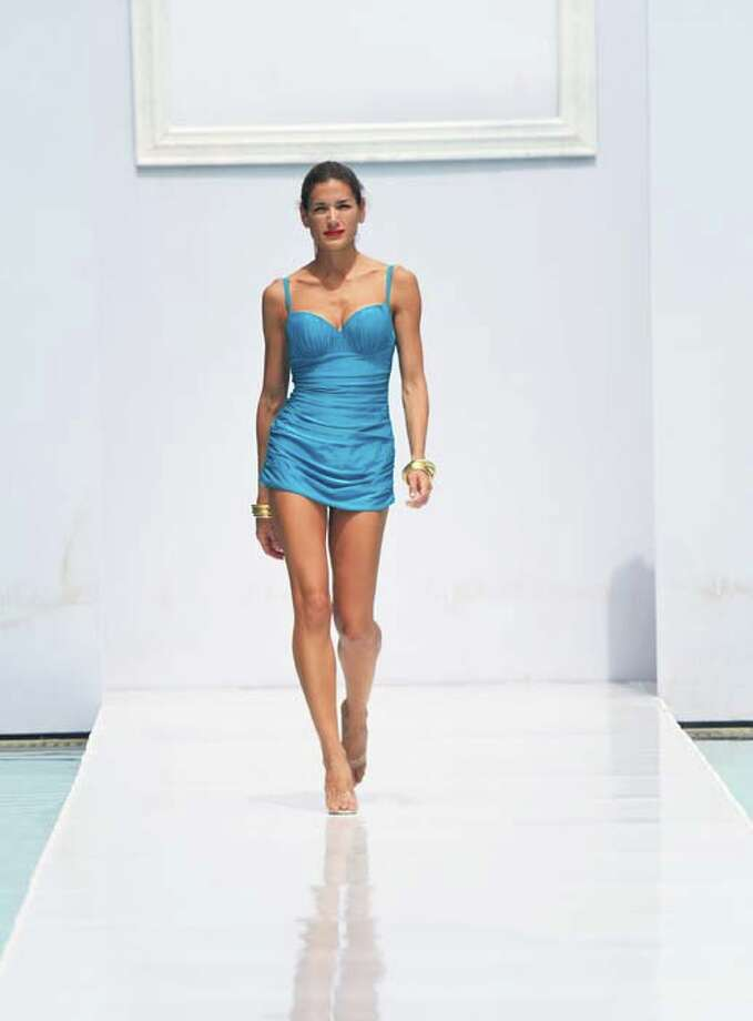 Styles and fashions from years past are coming back. Photo: Mike Coppola, Getty Images For Mercedes-Benz Fashion Week Swim 2014 / 2013 Getty Images