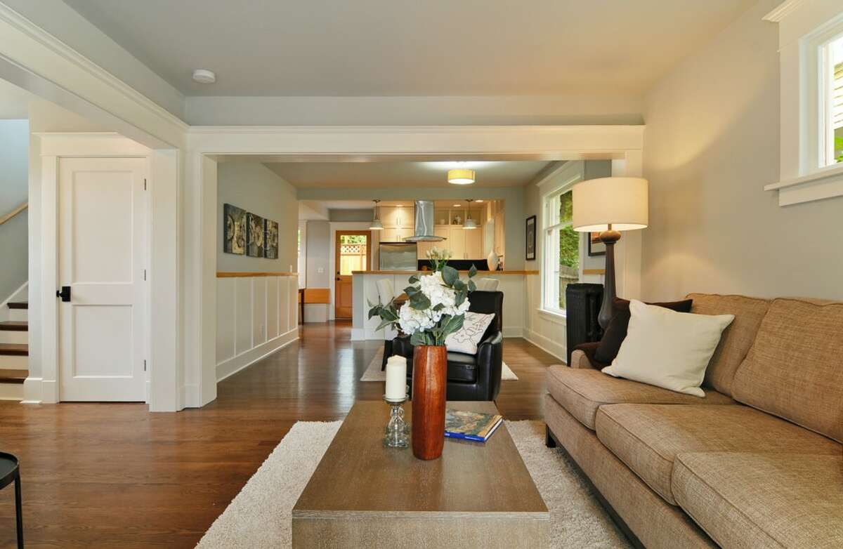 Living room of 710 Summit Ave. E. It's listed for $795,000.