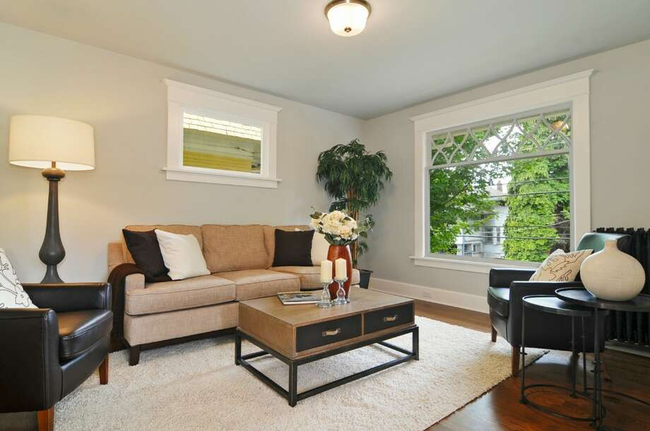 Living room of 710 Summit Ave. E. It's listed for $795,000. Photo: Stefan Enriquez, Courtesy John Blacksmith, Lake & Co.
