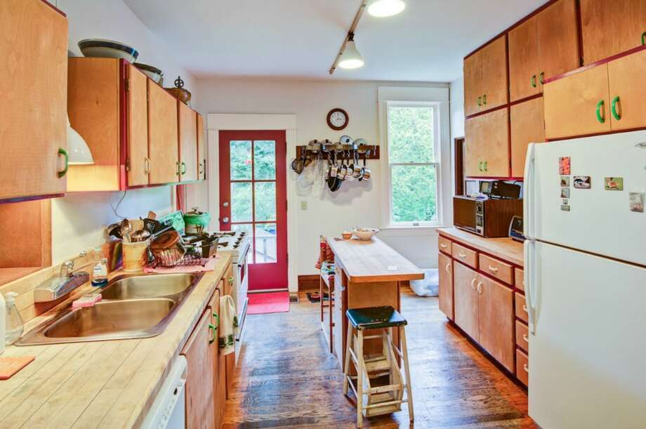 Kitchen of 1226 17th Ave. E. It's listed for $799,880. Photo: Stafford Squier, Courtesy Mary Schile, RE/MAX - Metro Realty