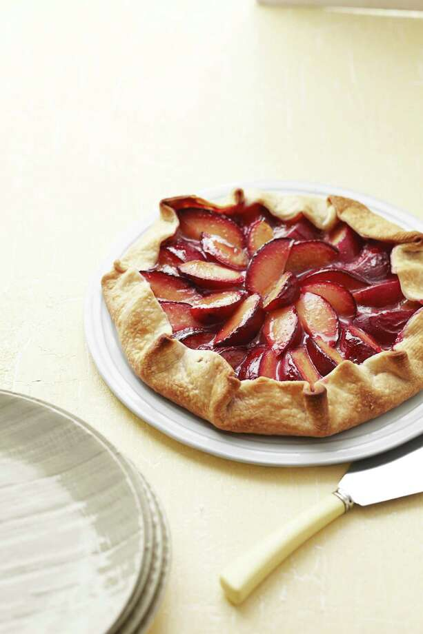 Good Housekeeping recipe for Easy Plum Tart. Photo: Anna Williams