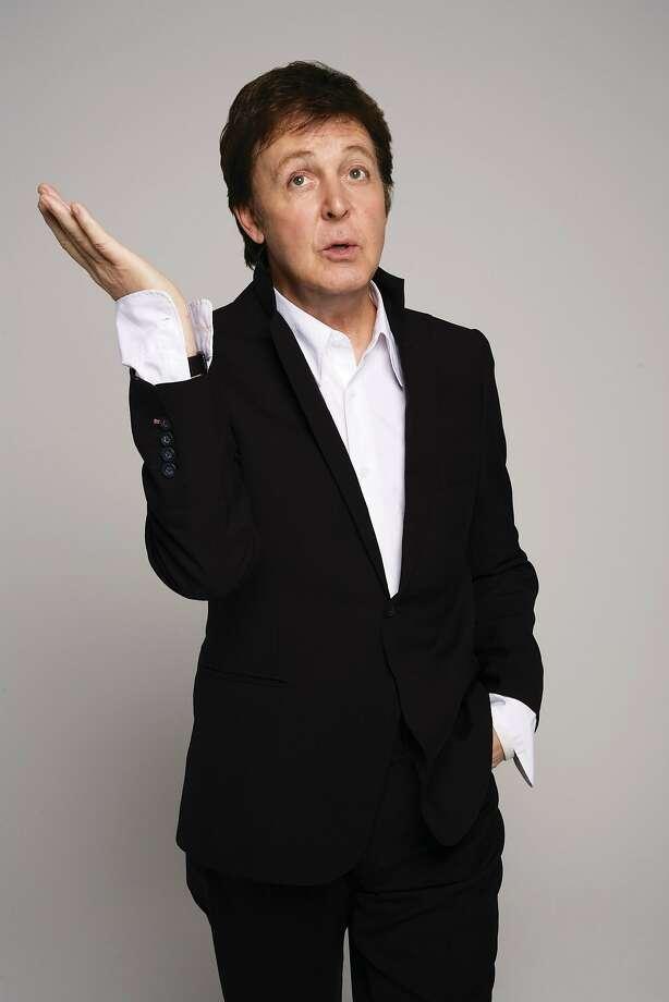 Outside Lands act Paul McCartney. Photo: EMI