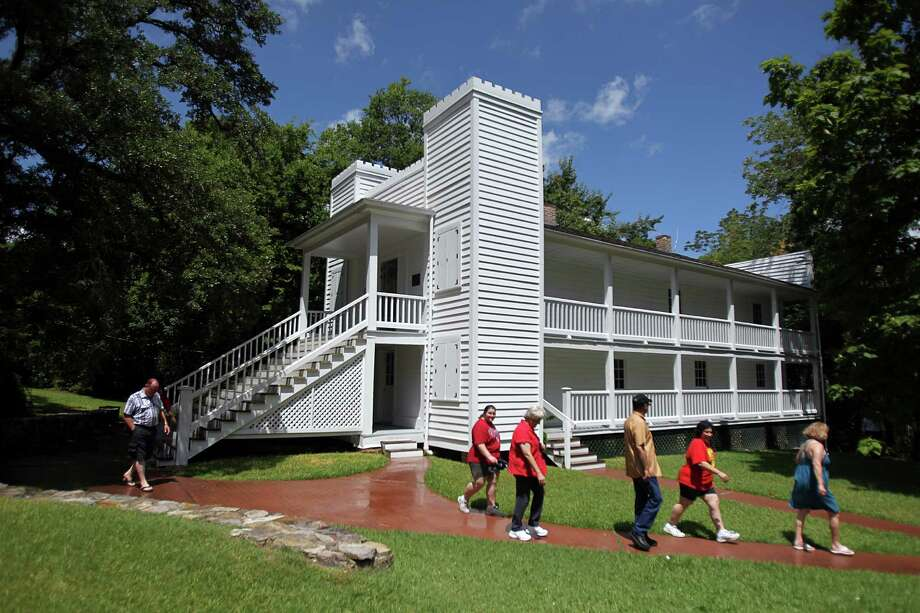 Visitors will be able to tour the Steamboat House as Sam Houston State University commemorates the 150th anniversary of Sam Houston's death on July 26 with a series of lectures and tour. Photo: Mayra Beltran / © 2013 Houston Chronicle