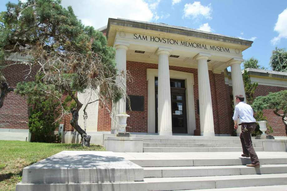 Michael Sproat, Curator of Education at the Sam Houston Memorial Museum, walks into the museum where many activities will be held commemorating the 150th anniversary of Sam Houston's death. Photo: Mayra Beltran / © 2013 Houston Chronicle