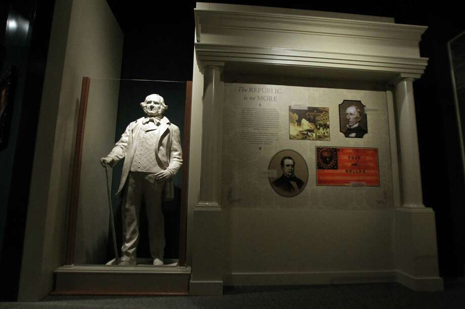 Sam Houston State University is commemorating the 150th anniversary of Sam Houston's death on July 26 with a series of lectures at the Sam Houston Memorial Museum and tours of his home. Photo: Mayra Beltran / © 2013 Houston Chronicle