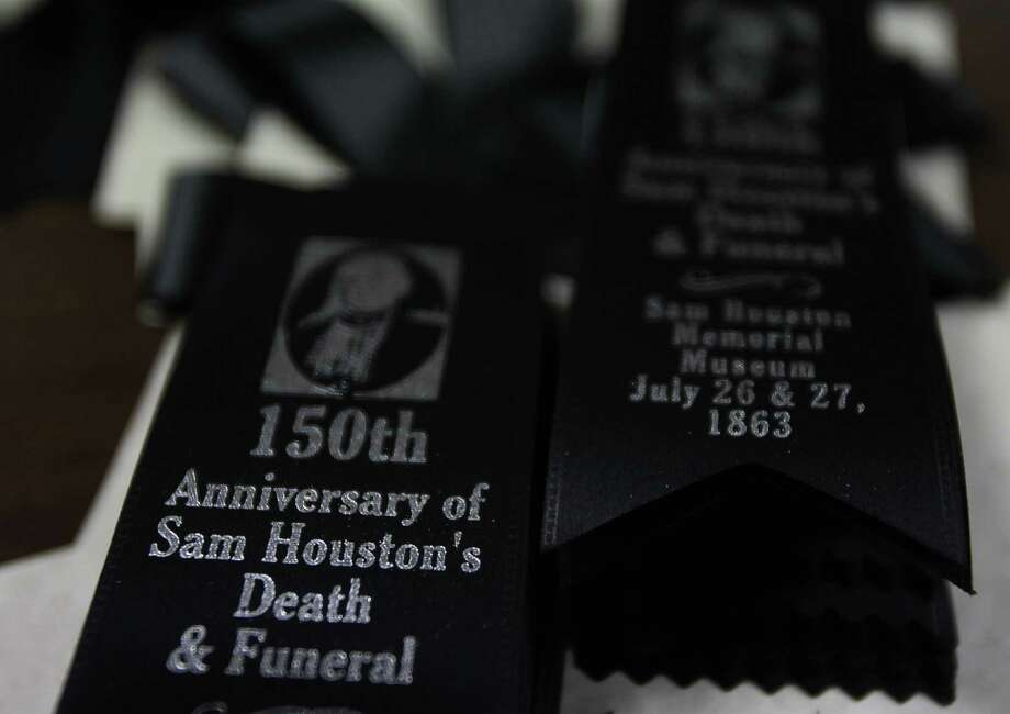 Sam Houston State University is commemorating the 150th anniversary of Sam Houston's death on July 26 with a series of lectures and tour. Photo: Mayra Beltran / © 2013 Houston Chronicle