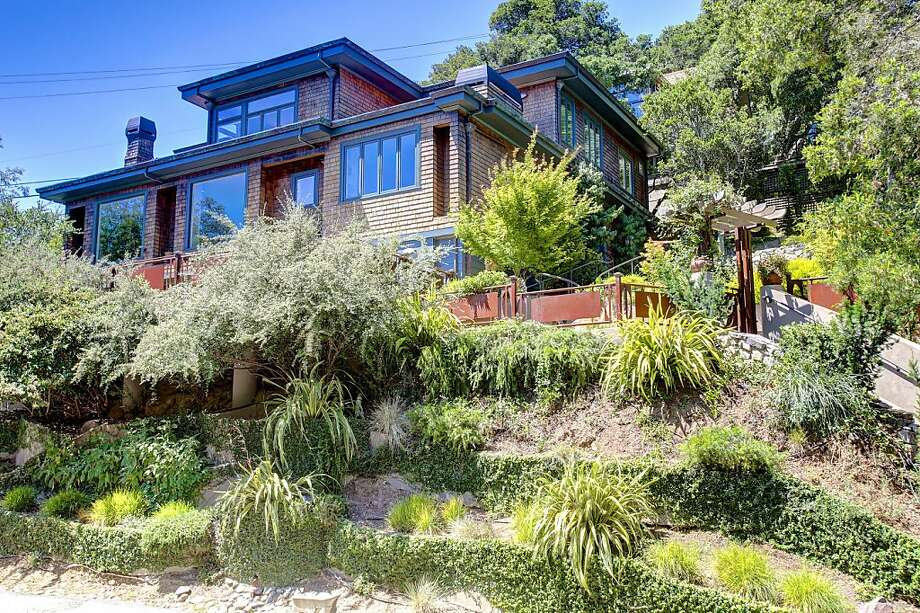 The four-bedroom home in Mill Valley is custom built. Photo: JasonWellsPhotography.com