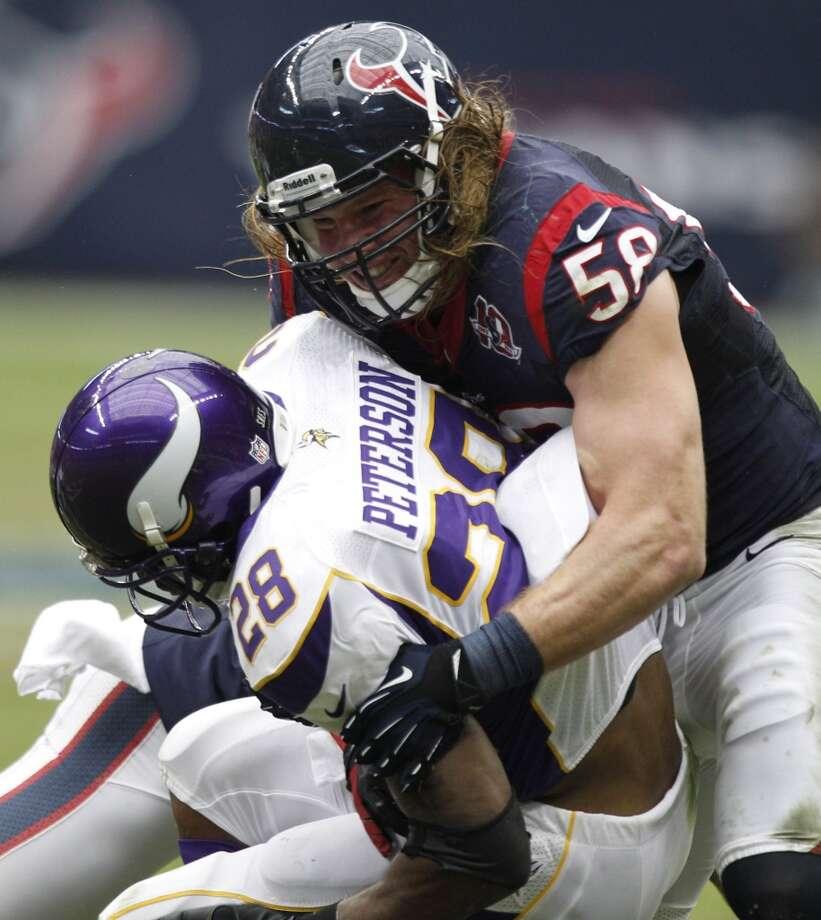 Brooks Reed (outside linebacker) Photo: Brett Coomer, Houston Chronicle