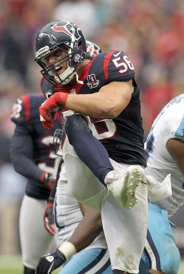 Brian Cushing (inside linebacker) Photo: Nick De La Torre, Houston Chronicle