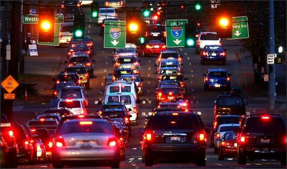 Mercer Street is and might always be a transportation failure. The city is working on the problem … but the construction is causing its own, fine version of hell. Keep clicking to see driving habits that just might give you away as a Seattle driver... Photo: Joshua Trujillo, Seattlepi.com