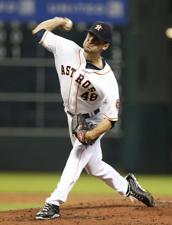 July 23: Astros 5, A's 4 In his second start, Jarred Cosart pitched seven innings and allowed one earned run. It was his first outing at Minute Maid Park.  Record: 34-65. Photo: Thomas B. Shea, For The Chronicle