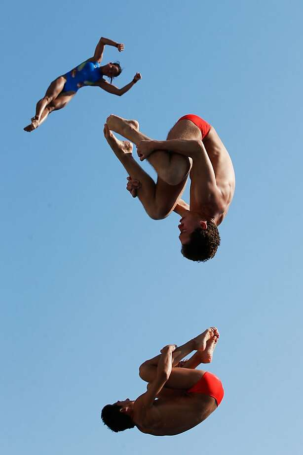 BARCELONA, SPAIN - JULY 23:  Athletes train during day four of the 15th FINA World Championships at Piscina Municipal de Montjuic on July 23, 2013 in Barcelona, Spain.  (Photo by Adam Pretty/Getty Images) *** BESTPIX *** Photo: Adam Pretty, Getty Images
