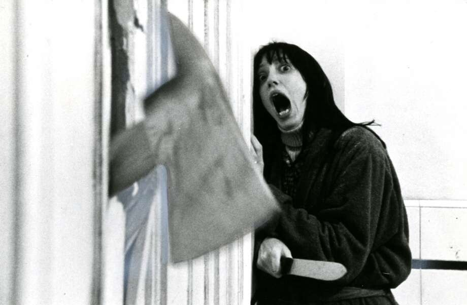 "Shelly Duvall in the 1980 movie ""The Shining."""