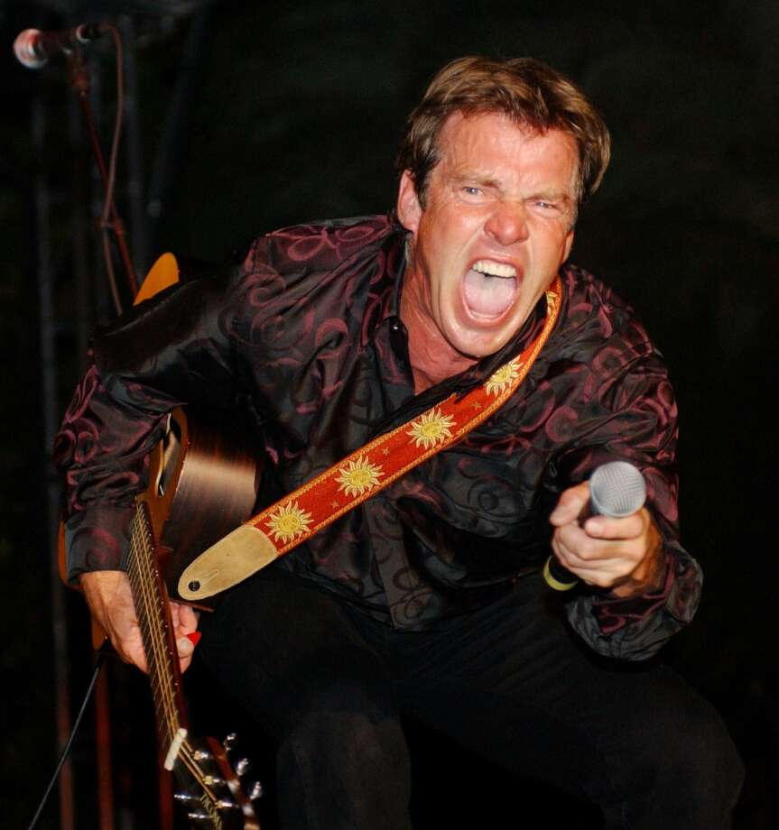 Houston's own Dennis Quaid's backing band is the Sharks. Quaid starred in 1983's very awful 'Jaws 3-D.' ...Coincidence? Photo: Denise Truscello, WireImage