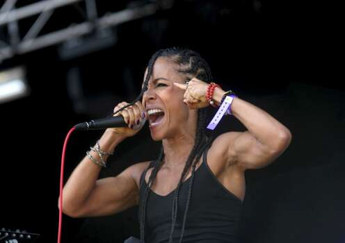 Jada Koren, aka Jada Pinkett Smith, has a Nu metal band named Wicked Wisdom. They've been around since 2002. Photo: Photoshot, Getty Images