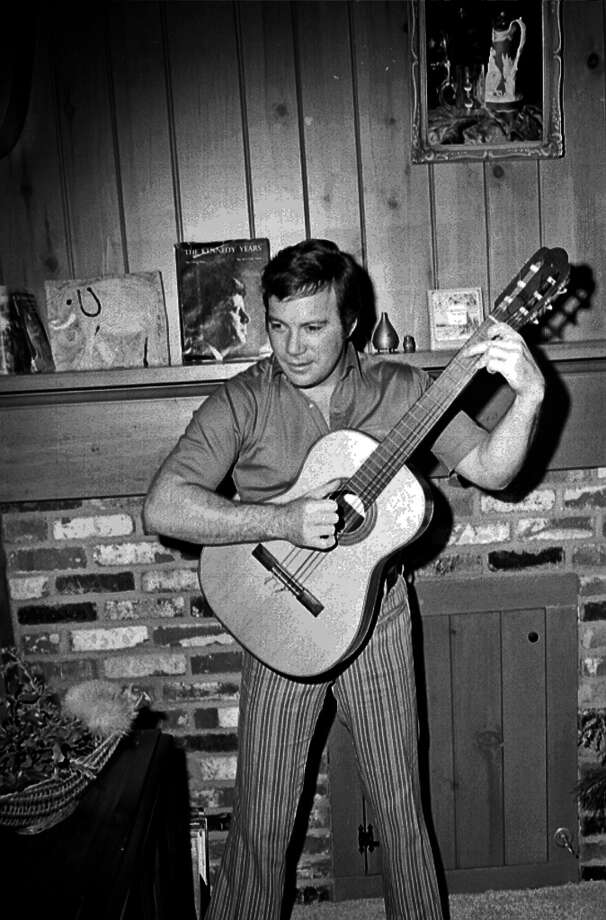 Not to be outdone by Spock, William 'Captain Kirk' Shatner made his debut in 1968 with 'The Transformed Man.' Photo: Michael Ochs Archives, Getty Images