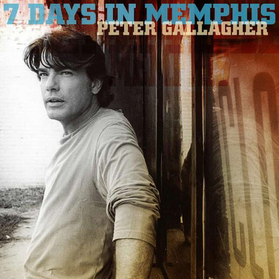 Peter Gallagher's'7 Days In Memphis' dropped in 2005. Photo: Sony BMG