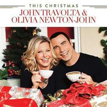 John Travolta has a bunch of albums to his credit, but none with a cover quite like 2012's 'This Christmas' (with Olivia Newton-John). Photo: UMe