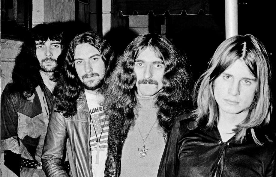 The Black Sabbath lineup, circa 1970, included Iommi, from left, Bill Ward, Butler and Osbourne. Photo: Jan Persson, Contributor / 1970 Jan Persson
