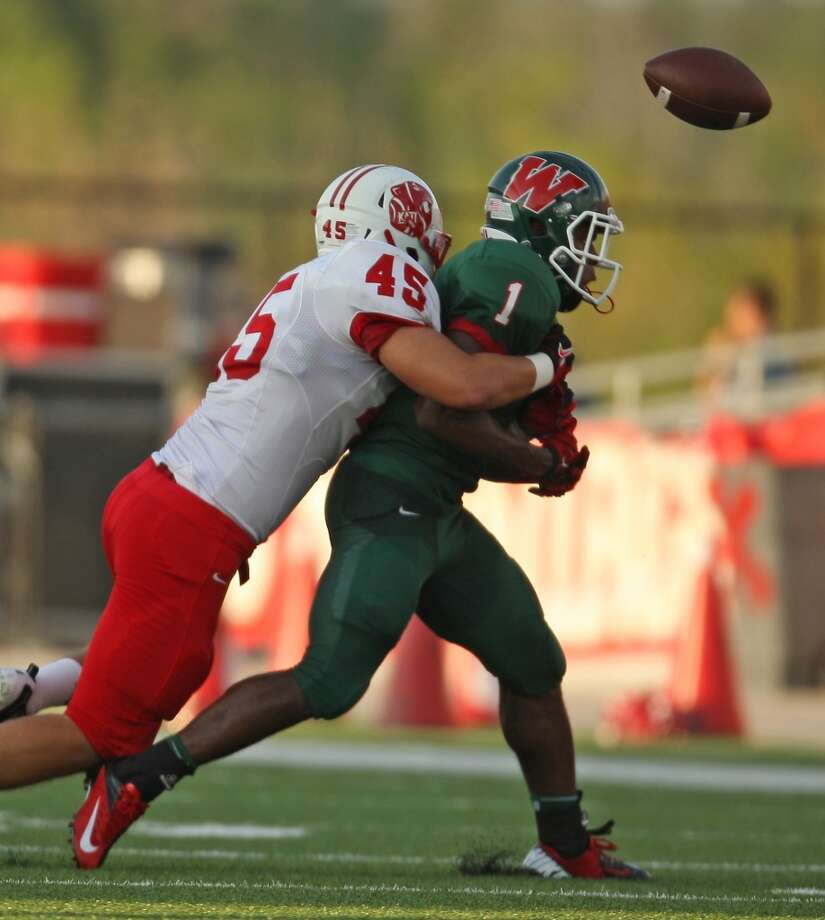 LB Jake Blomstrom   Height/weight: 6-1, 235   High school: Katy   College: Tarleton State Photo: Eric Christian Smith, For The Chronicle