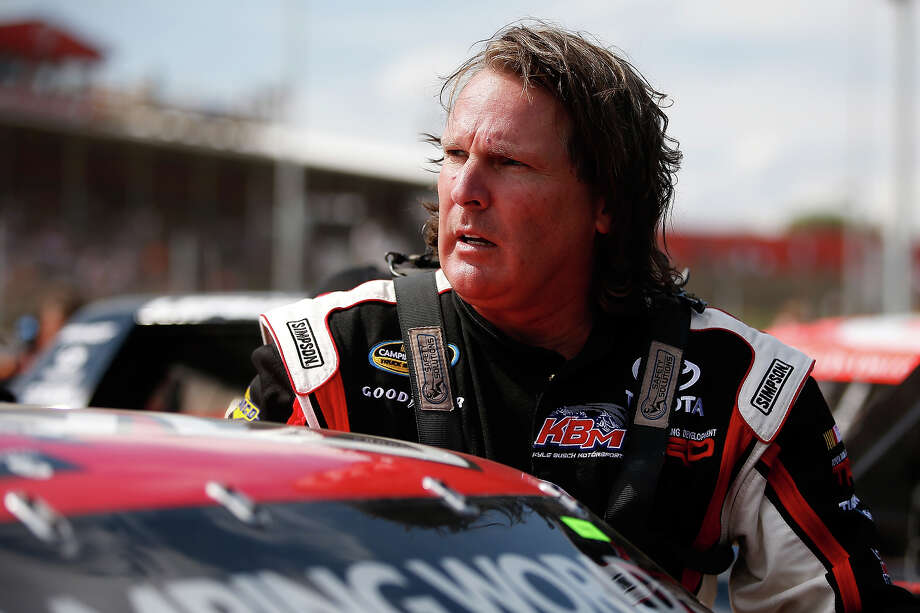 Scott Bloomquist, driver of the #51 ToyotaCare Toyota, prepares to drive during practice for the NASCAR Camping World Truck Series inaugural CarCash Mudsummer Classic at Eldora Speedway on July 23, 2013 in Rossburg, Ohio. Photo: Chris Graythen, NASCAR Via Getty Images / 2013 NASCAR