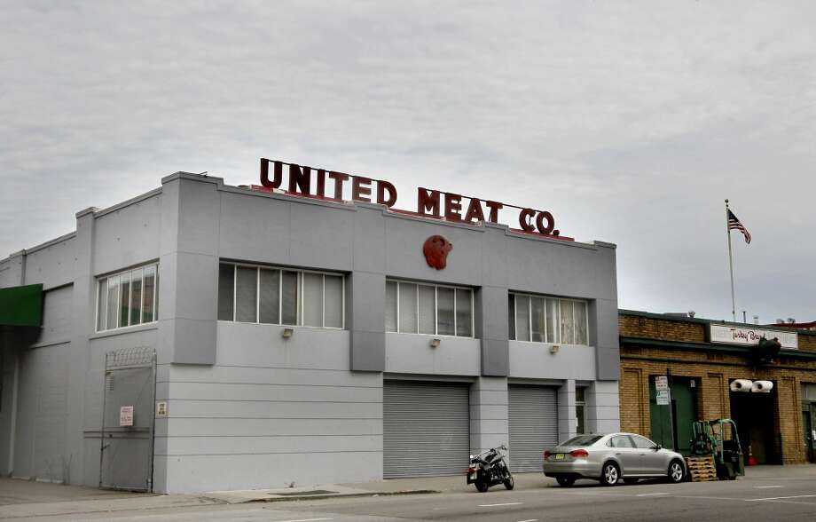 The United Meat Company building. Photo: Michael Macor, San Francisco Chronicle