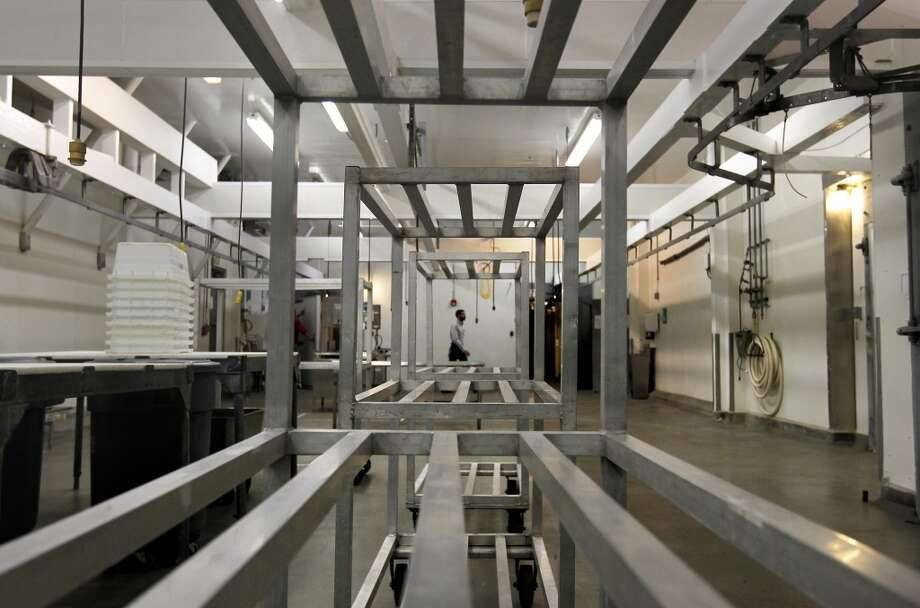 The new main meat processing room. Photo: Michael Macor, San Francisco Chronicle
